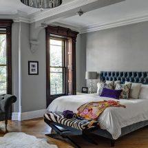 Спальня в сером цвете: особенности оформления