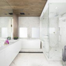 Потолок в ванной комнате: выбор материалов