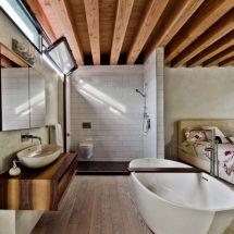 Потолок в ванной: оригинальные способы оформления