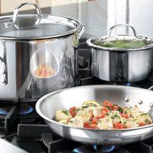 Посуда из нержавеющей стали: правила выбора и ухода