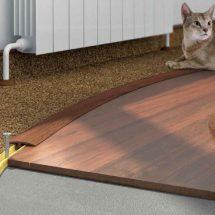 Как оформить стыки плитки и ламината