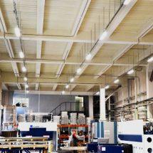 Светильники для освещения производственных предприятий