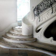 Мраморные лестницы.