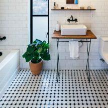 Как выбрать напольную плитку для ванной